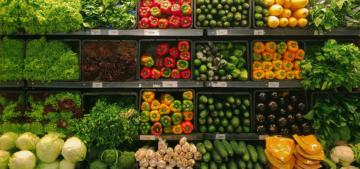 Fresh Produce in a Supermarket
